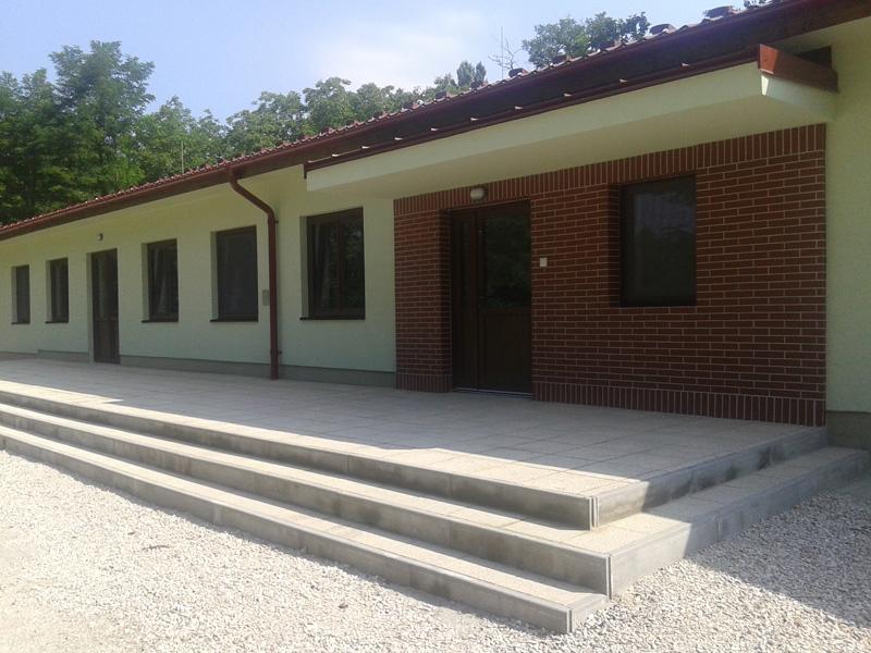 Tahitótfalu, Ifjúsági tábor felújítási munkái